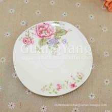 Excellent Quality Ceramic Custom Printed Dinner Plates