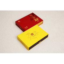 Luxury Custom Sliding Rigid Paper Cardboard Gift Box with Foam Insert