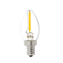 A iluminação da decoração conduziu o bulbo exterior C7 do bulbo E12