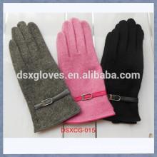 Hot sellig Ladies Cashmere Smart Phone Gloves