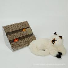 Brinquedo bola de estimação de gato papel scrather brinquedos