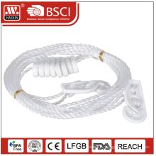 Corde à linge avec 8 crochets (1 * 5m)