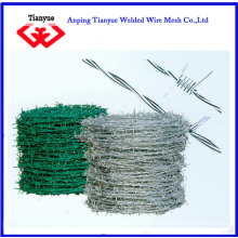 PVC Coated Galvanized Barbed Wire (TYB-0062)