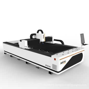 Jinan Manufacture 500w 1000wattts 2000w 3000W stainless steel carbon metal fiber laser cutting machine