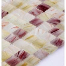 Mosaico de vidrieras para decoración de baños
