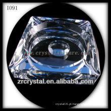 Cinzeiro de Cristal Branco K9