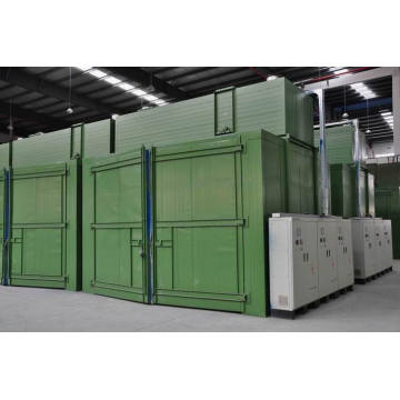 Curing & Drying Chamber (gasverwarming)