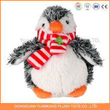 Juguete pingüino de felpa de felpa de juguete de pingüino de diseño personalizado