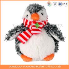 Pinguim de natal de design personalizado brinquedo de pinguim de pelúcia brinquedo de pelúcia