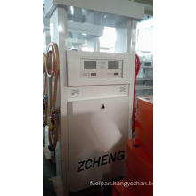 Zcheng Gas Station Digital Petrol Pump Fuel Dispenser with 2 Pump