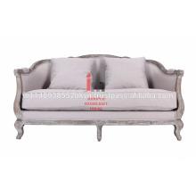 Vintage sala de estar sofá