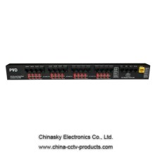 16CH Power/Video/Data Combiner Hub-Mid PVD316M