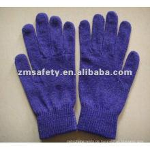 Silber Fiber Acryl iPhone Handschuhe für Bildschirm Touch ZMR731