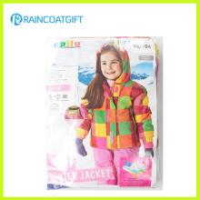 Nette Mädchen PU Ski Regenkleidung Rum-022