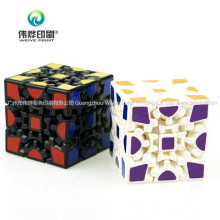 3 X 3 X 3 Gears Rotate Puzzle Sticker Adults Child′s Educational Toy Maggic Cube