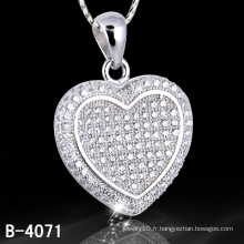 Nouvelle bijouterie 925 Silver Micro Setting Jewelry