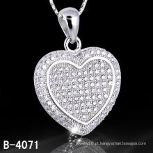 Pingente de prata da jóia dos novos estilos 925 prata Micro