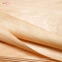 1mm natural mahogany wood veneer 0.3mm okoume wood veneer 0.5mm gabon wood veneer