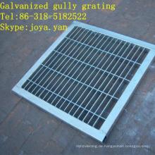 Galvanisiertes Gully-Gitter