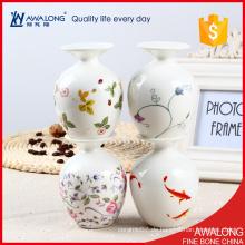 Hochwertiges Geschirr kleine Porzellan Vase / schöne Tischdekoration Raum Dekoration Vase