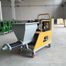 Mini máquina de yeso de pulverización de mortero de cemento de alta calidad