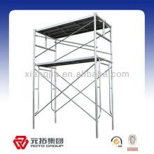 H type painted galvanized folding scaffolding frame