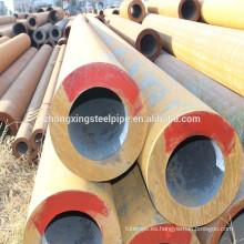 Tubo de acero inconsútil de carbón de S45C/SAE1045 común usa tamaño/suave/acero pipa/precio por tonelada