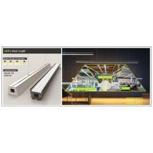 Luz lineal IP65 impermeable a prueba de agua caliente para proyecto de iluminación de calidad