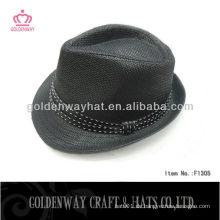 2013 Fashion Fedora Hut zum Verkauf (schwarz)