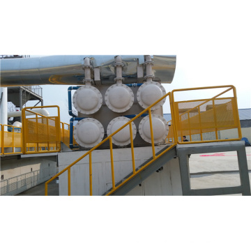 30kw / h sistema de reciclaje de neumáticos de desecho con alto rendimiento de aceite de desecho de caucho planta de reciclaje usado neumático prolysis máquina de neumáticos de desecho pyroly