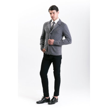 Мужская мода кашемир смесь свитер 18brawm012