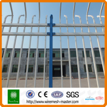 China Manufacture customizable and rust-proof steel tube fence