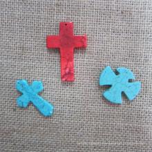 Cross Pendant, Fashion Turquoise Cross