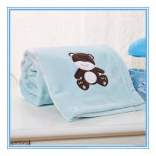 Super Soft Minky flanela cobertor bebê bordado