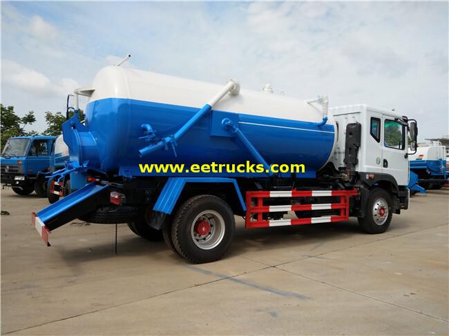 Dongfeng Vacuum Ordure Suction Trucks