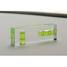 Niveau d'esprit acrylique acrylique avec 2vails (700303)