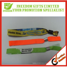 High Quality Woven Fabric Wristbands