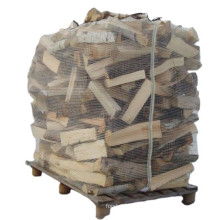 Private Label Breathable Eco Friendly Firewood Bulk Mesh PP Big Bag For Packing Wood Bulk Ventilated Firewood Bags