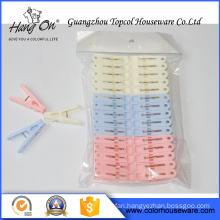 New product colorful plastic clothing clip