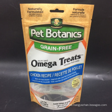 Stand Up Pet Food Pouch With Windows