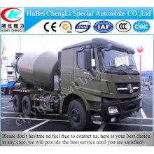 North Ben 12 CBM caminhão misturador de concreto para venda quente