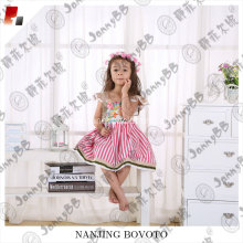 JannyBB flower printed flutter ruffles dress