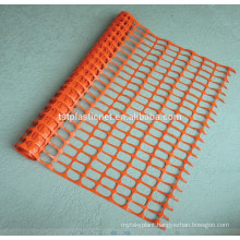 plastic barrier fence with square or oval meshes