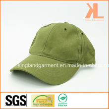 Cotton Drill Army /Military Olive Green Plain Baseball Cap