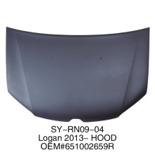 hood used for RENAULT logan 2013-