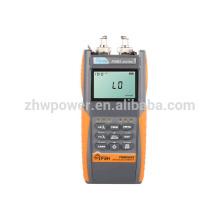 FHM2A02 Ensemble de test de perte optique, compteur de puissance et source laser, multimètre optique avec menu anglais