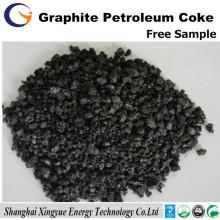 Coke de pétrole de graphite de 1-4mm fournisseur