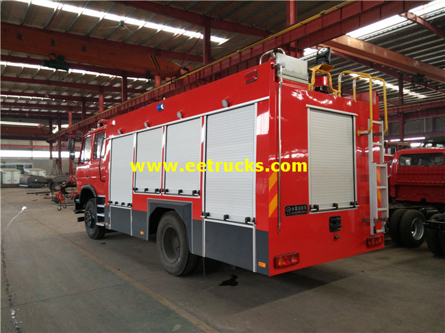 Forest Fire Fighting Truck