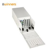 48 núcleos, 2 puertas, montaje en pared, centro de distribución de fibra para múltiples operadores, caja Termianl