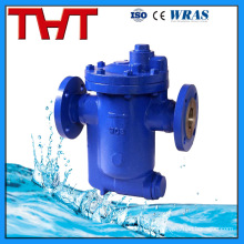 flanged float ball condensate bucket steam trap